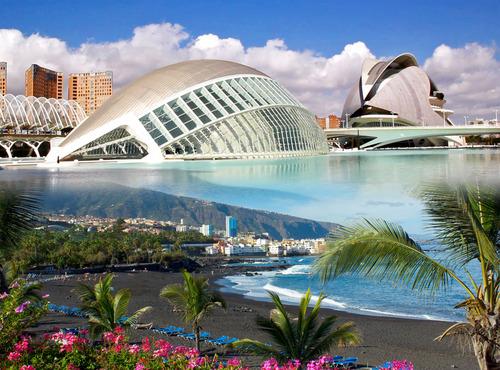 Почивка в Испания - Барселона и о-в Тенерифе, юли 2020