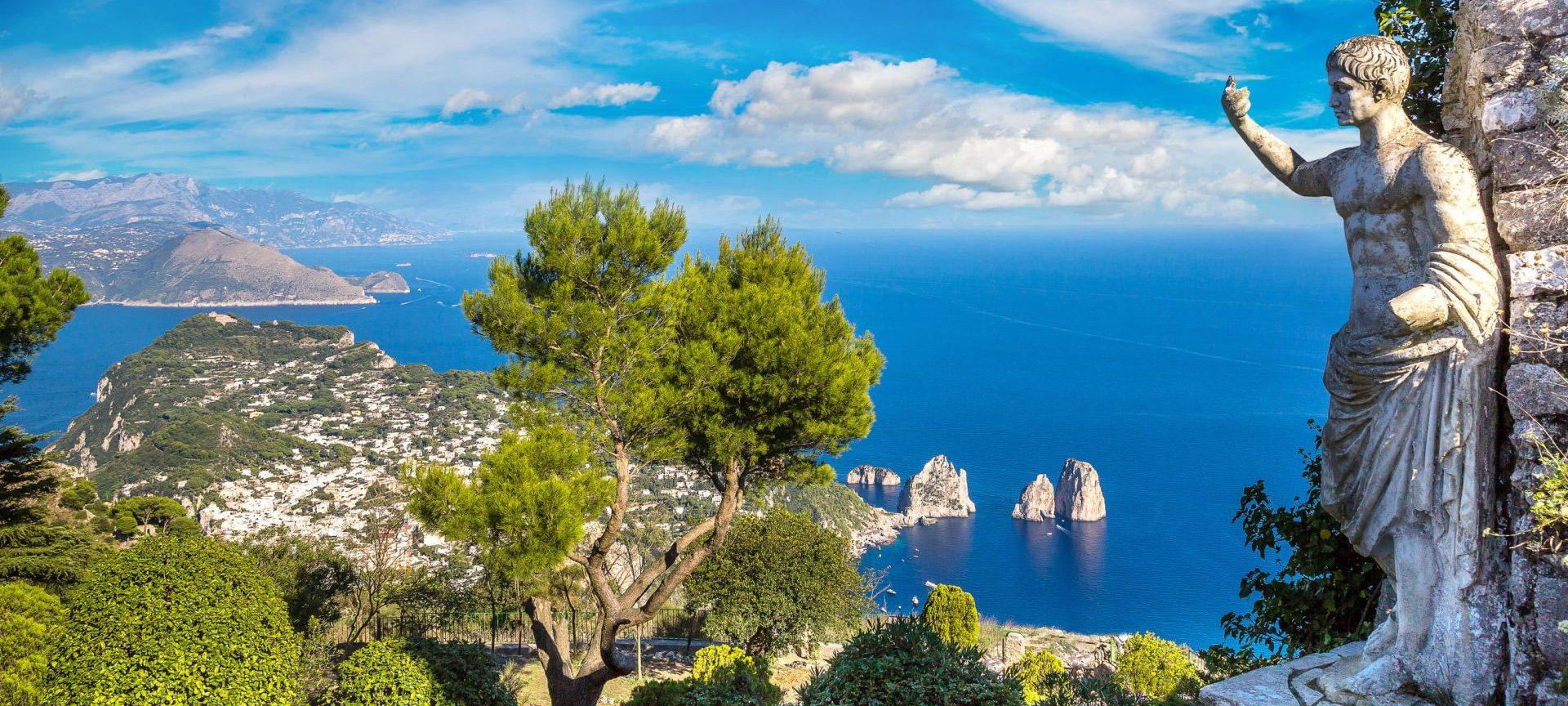 Соренто и южна Италия - о. Капри, Неапол, Помпей ...